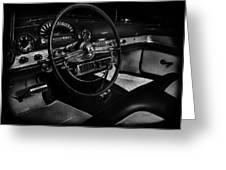 Ford Crestline Interior Greeting Card