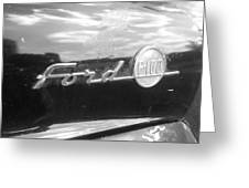 Ford F100 Greeting Card