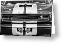 Ford Mustang Grille Emblem Greeting Card