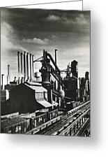 Ford's River Rouge Plant Greeting Card