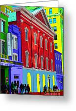 Fords Theatre Greeting Card