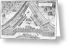 Fort Caroline, 1564 Greeting Card