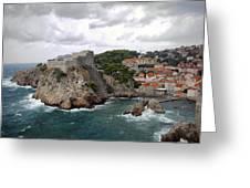 Fort Lovrijenac - Dubrovnik - Croatia Greeting Card