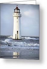 Fort Perch Lighthouse Greeting Card