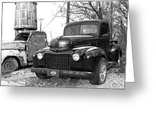 Forties Ford Pickup Greeting Card