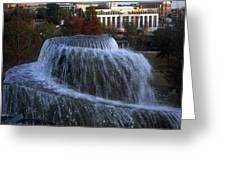 Fountain At Finlay Park Greeting Card