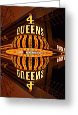 Four Queens 2 Greeting Card