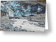 Fox Glacier Greeting Card