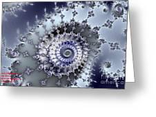 Fractal Fantasia Opus 1 No 1 Greeting Card
