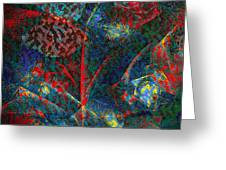 Fractal Flower Greeting Card