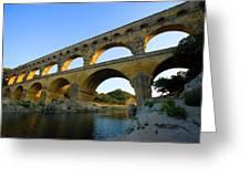 France, Avignon The Pont Du Gard Roman Greeting Card