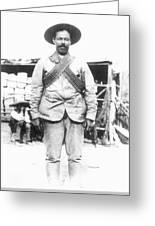 Francisco 'pancho' Villa (1878-1923) Greeting Card