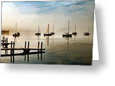 Frankfort Morning Mist Greeting Card