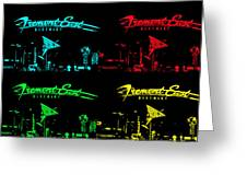 Fremont East Greeting Card