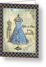 French Dress Shop-b1 Greeting Card