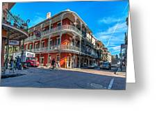 French Quarter Afternoon Greeting Card