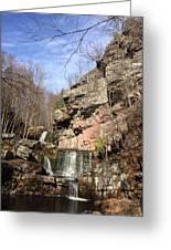 Fresh Water Streams Around Poconos Pa America Usa  Greeting Card