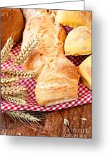 Freshly Baked Bread  Greeting Card