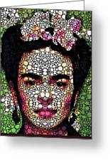 Frida Kahlo Art - Define Beauty Greeting Card