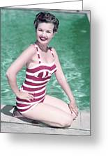Gale Storm Greeting Card