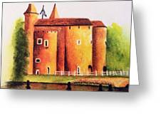 Gateway To Brugge Greeting Card