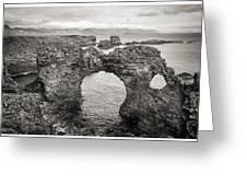 Gatklettur Arch In Hellnar Greeting Card