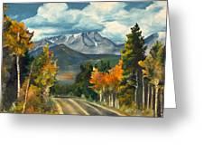 Gayle's Highway Greeting Card