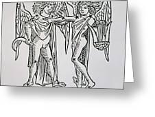 Gemini An Illustration Greeting Card