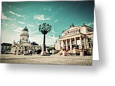 Gendarmenmarkt In Berlin Germany Greeting Card