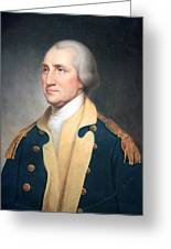 George Washington By Rembrandt Peale Greeting Card