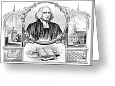 George Whitefield (1714-1770) Greeting Card