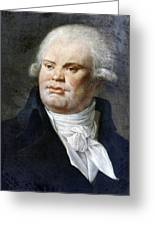 Georges-jacques Danton (1759-1794) Greeting Card