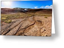 Geothermal Field Greeting Card