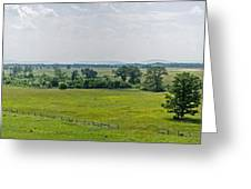 Gettysburg Battlefield Greeting Card