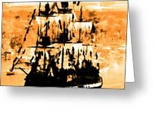 Ghosts Of Gasparilla Greeting Card