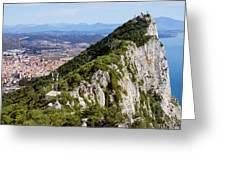 Gibraltar Rock Greeting Card