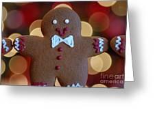 Ginger-bokeh Greeting Card