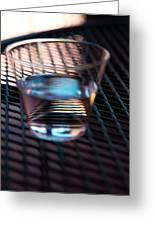 Glass Half Full Greeting Card by David Patterson