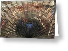 Glass Spiral Greeting Card