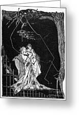 Goethe: Faust Greeting Card