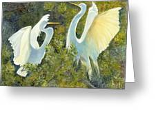 Golden Wings Greeting Card
