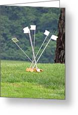 Golf Practice  Greeting Card