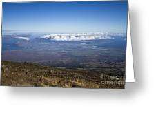 Good Morning Maui Greeting Card