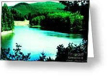 Gorge Waterway Victoria British Columbia Greeting Card
