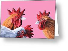 Gossip Girls Greeting Card