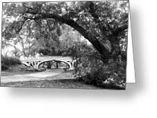 Gothic Bridge Greeting Card
