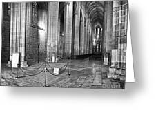 Gothic Church Greeting Card