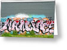 Graffiti Art Greeting Card