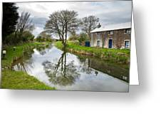 Grand Canal At Miltown Greeting Card