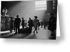 Grand Central Station, 1941 Greeting Card
